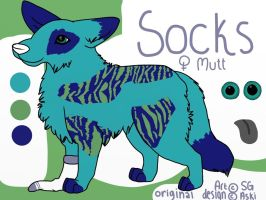 Socks! by wolfhailstorm
