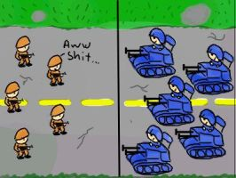Advance wars... by hotmustid