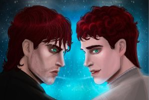 Commander old/young version by Angela-Narish
