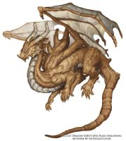 Occult Dragon Concept - Beastiary 5 by The-SixthLeafClover