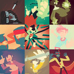 RC9GN color pallet mix by RandomDraggon