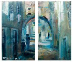 Arch Street Oil Paint by Boias