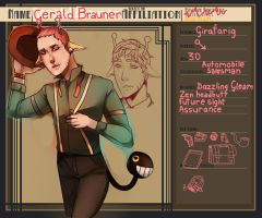 TRR- Gerald Brauner by anime-begginer12