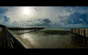 Dock, Pier Panorama by DerekProspero