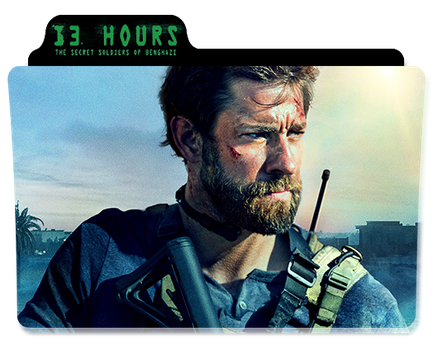 13 Hours: The Secret Soldiers of Benghazi Folder by TheMustang24