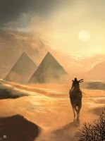 The Pyramids by matty17art