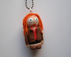 Amy Pond - Doctor Who custom Necklace by RavenMedia