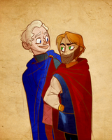 King and Lionheart by TopHatTurtle