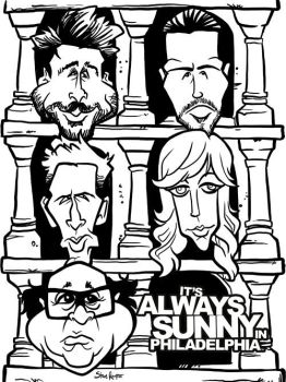 Always Sunny in Westeros by b1naryg0d