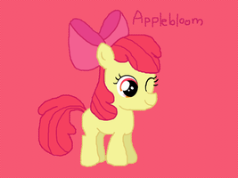 Applebloom by SketchyCharmander