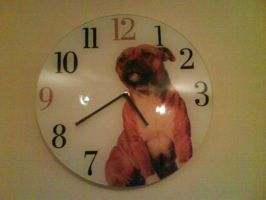 Our new Kitchen Clock :D by demon1993