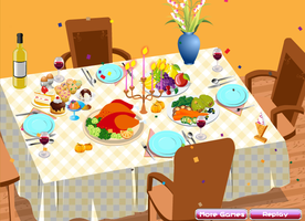 Thanksgiving Table Setting by willbeyou