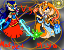 the timeless battle of Queens  by queenmafdet