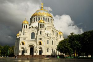 Kronstadt Cathedral after rain by wildplaces