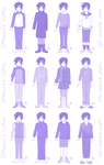 ask-android-japan: Outfits by ManaLookie