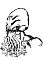 Cthulhu drawings002 sketchy by BDTXIII