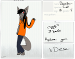 Danielle REF by TheSlendermanIsHere