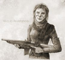 Viva La resistance by Slight-Shift
