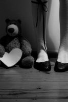 Socks: I love my teddy? by liseva