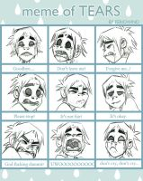 Tears Meme - 2D by Psychoon