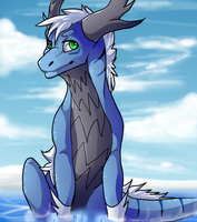 Kalo in Water by Azuine