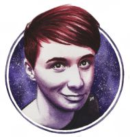 Dan Howell 'space' by DraconaMalfoy