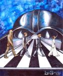 Star Wars Abbey Rd by leelastarsky