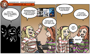 Gamergate life 53 by KukuruyoArt
