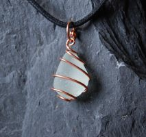 Sea Glass Pendant #6 by Freak7109