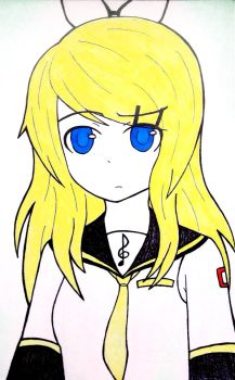 Kagamine Rin Future Style by ScaryReptile