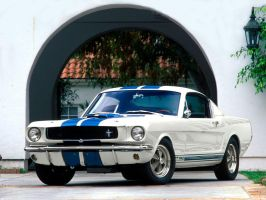 1965 Shelby GT 350 White by puddlz