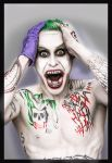 Jared Leto Joker - Tune Up by TroyandFriends