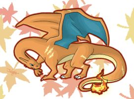 After Burner - Oversized Charizard by haha-tommy