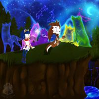 AT: Constellations in the Sky by wolfs-rain-amanda