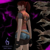 RE6 - Claire Redfield by dnxpunk
