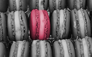 Macarons color by Kloddy44
