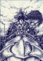 RED DRAGON'S KING one man by sauronthegreateye