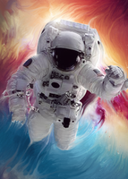 ASTRONAUT by sNakyGFX