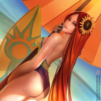 Leona Beach party ! by BADCOMPZERO