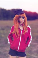 Sunset - Asuka by MeganCoffey