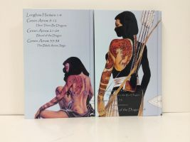 Shado Volumes Finished Back Covers by daarkanjel