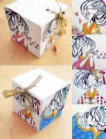 Paper Geisha Box by Orenji-art