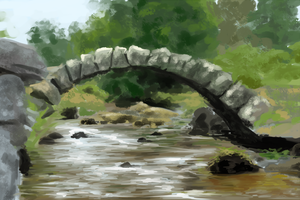 The Bridge - Speed Study by Ametystical
