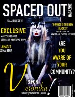 Spaced Out Magazine Fall Cover by spacedoutmagazine