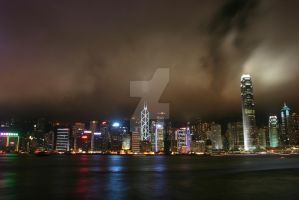 Hong Kong at Night by will-jum