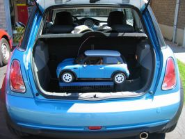 mini cooper baby surprise by ss24
