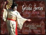 Geisha Fan PACK by AngelaSasser-stock