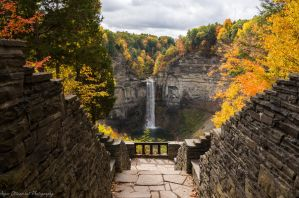 Taughannock in Autumn by Angelan-sama