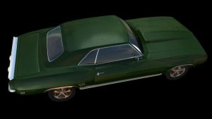 Muscle Car WIP 3 by FrankyPlata