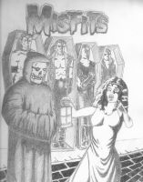 misfits horror by ASTR0-Z0MBIE